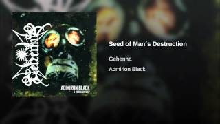 Watch Gehenna Admirion Black video