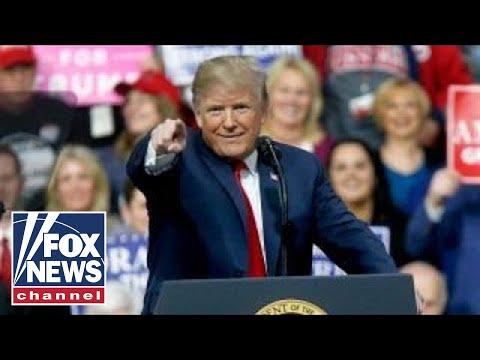 Trump\'s Pennsylvania rally for Rick Saccone: key moments