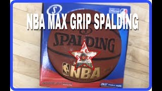 NBA MAX GRIP SPALDING BALL REVIEW!!! Done by Coach Watson & Dominic!!!