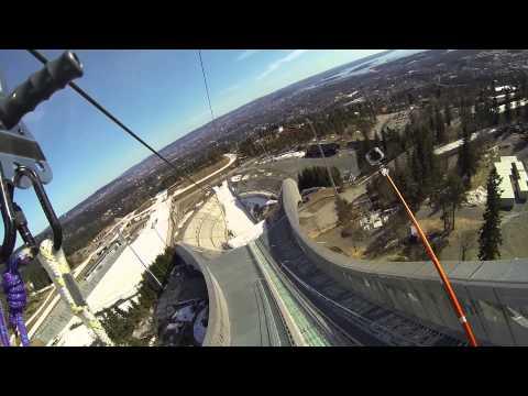 Holmenkollen ZipLine HD  (Flere vinkler)