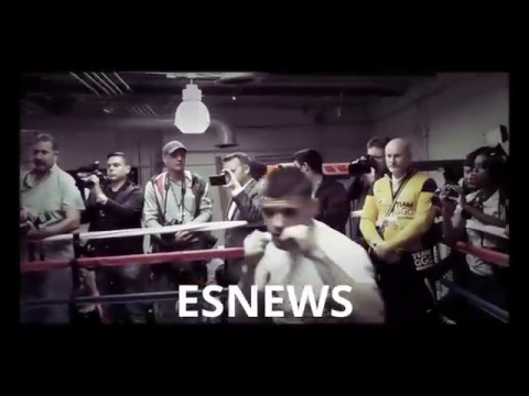 Canelo Already Training For GGG Ready To Fight TONIGHT EsNews Boxing