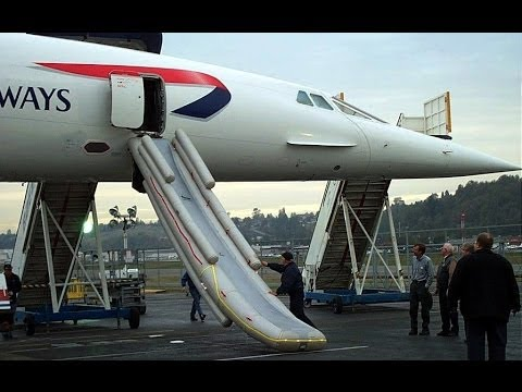 British Airways Supersonic Concorde G-BOAG Decommissioning Museum of Flight Boeing Field 11-07-2003