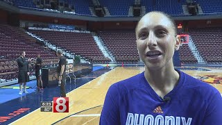 """Diana Taurasi on CT Sun fans: """"They better not boo me"""""""