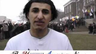 YEMENIS PROTEST in Dearborn Michigan