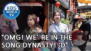 """Sohyun X Hyunhee """"OMG, We're in the 'Song Dynasty'!"""" [Battle Trip/2018.06.17]"""