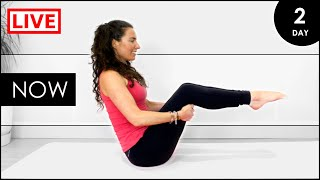 YOGA For BEGINNERS At Home / 31 Day LIVE Yoga Challenge (Day 2)