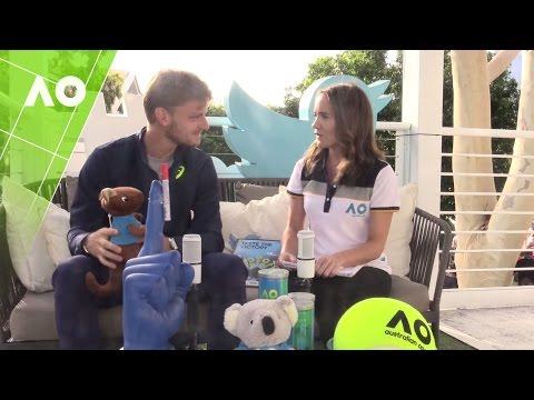 David Goffin in the Twitter Blue Room | Australian Open 2017