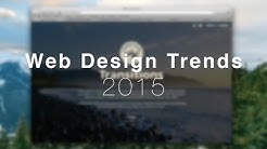 Web Design Trends 2015 - Ghost Button