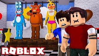 Roblox - WIR BESUCHEN WIR RESTAURANT VON ANIMATRONICS (Blockbären)