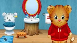Daniel el tigre nos enseña su baño