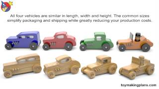 Wood Toy Plans Hot Rod Freaky Fords