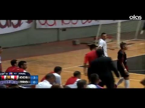 Final LSFSV 2017 CARACAS FSC VS TROTAMUNDOS 1ER TIEMPO