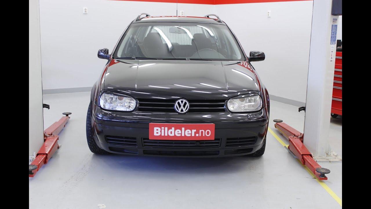 Vw Golf Iv Hvordan Bytte Sttdemper Og Fjrbeinslager Foran 1998 Timing Belt 2006 Volkswagens Til Mod