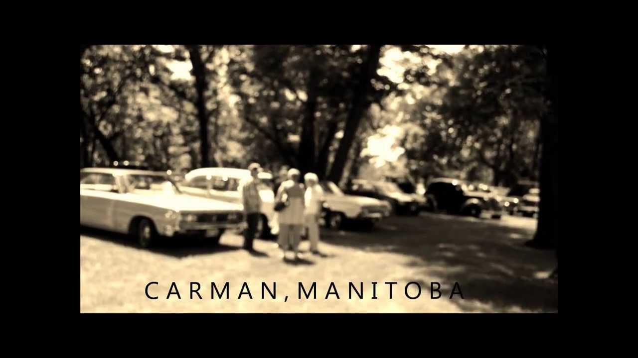 Classic Car Show in Carman, Manitoba. Challenger, Bel Air, Mustang ...