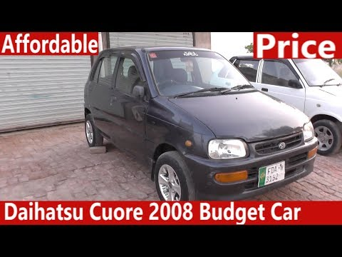 Daihatsu Cuore 2008 Budget Car Review | Price Detail, Specification & Features