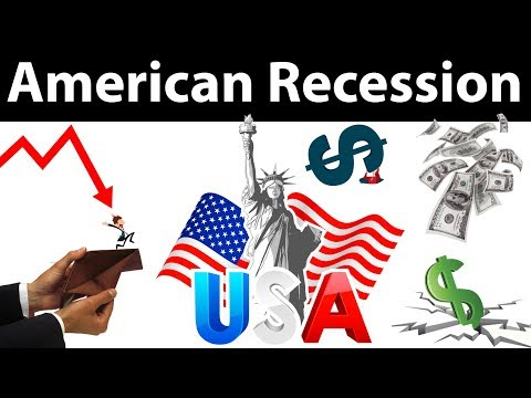 American Recession - The Financial Crisis of 2007 & 2008 - The Great Global Recession explained