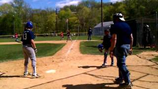 The worst ump ever head high strike zone the boy batting is only 12 years old