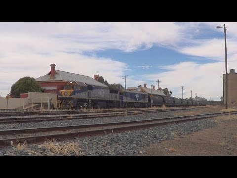 Trains in the Riverina New South Wales