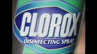 Clorox Disinfecting Spray commercial from 1999 thumbnail