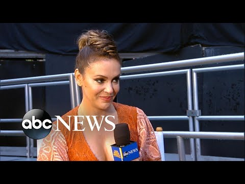 Alyssa Milano says she was 'terrified' to join 'Wet Hot American Summer: Ten Years Later' cast
