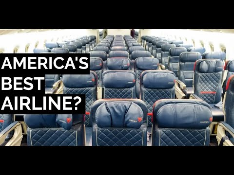 Delta Airlines' New Economy Class Service Is Actually Really good?! | Seattle - Amsterdam | Review