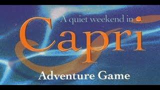A Quiet Weekend in Capri (Pt. 1)
