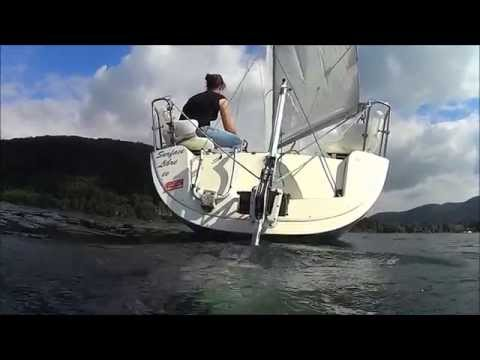Save Marine H240 Hydrogenerator : the first tests on a sailboat