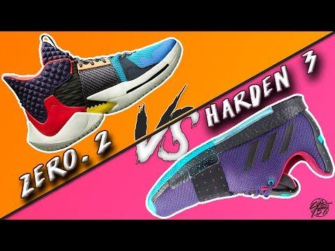 Jordan WHY NOT ZERO.2 vs Adidas Harden VOL 3!