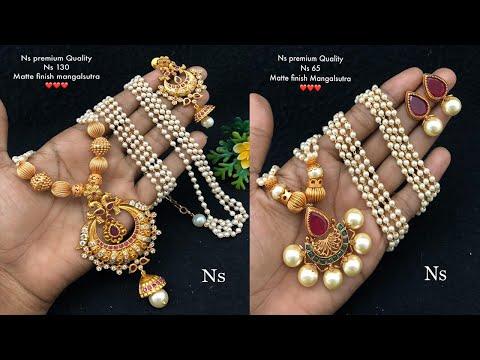 new-arrival-matt-finish-mangalsutra-design-collections-for-best-price