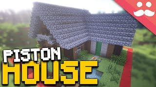 MINECRAFT PISTON HOUSE in 1 Chunk!