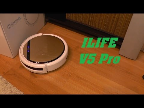 ILIFE V5 Pro - Robot Vacuum Cleaner Review