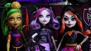 monster high scaris city of frights collections video d
