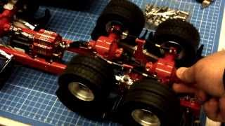 TEST-1 6x6 Robbe Allwhell Drive System & LESU Torque Gearbox