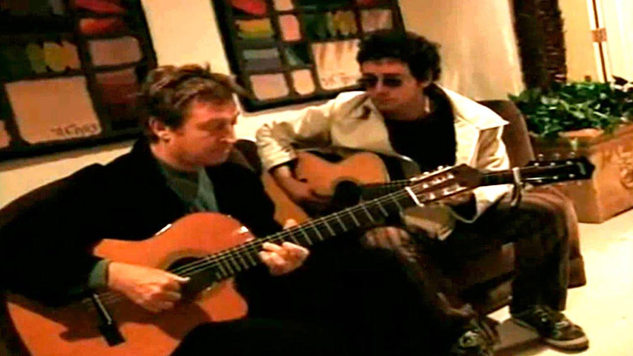 Gustavo Cerati grabando con Andy Summers - Tráeme la Noche - 1998 - YouTube