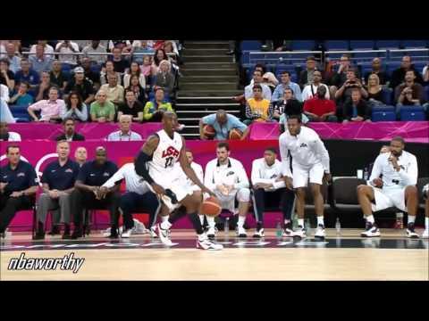 Kobe Bryant Catches FIRE vs Austrailia (2012 Olympics)