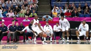 Kobe Bryant Catches FIRE vs Austrailia (2012 Olympics)