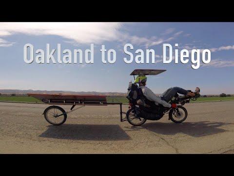 California solar bike tour: Oakland to San Diego