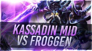 Voyboy: KASSADIN VS FROGGEN TALIYAH