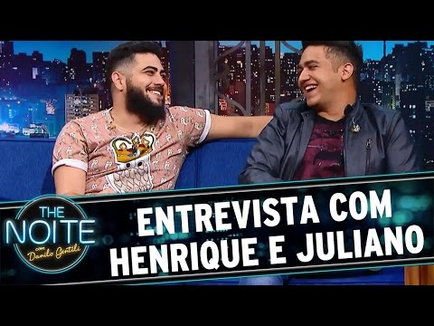 The Noite (23/05/16) - Entrevista com Henrique e Juliano