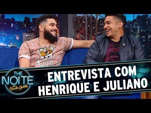 The Noite (23/05/16) - Entrevista com Henrique e...