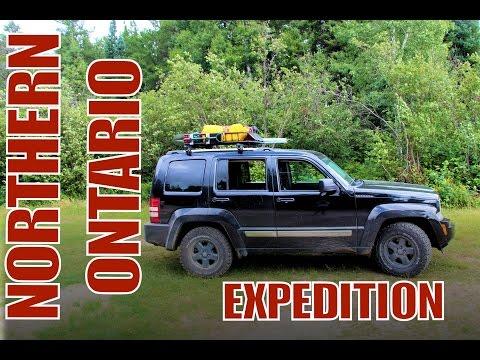 Northern Ontario Expedition - Part 2 - Day 3 - Sudbury To Shining Tree (Jeep Liberty)