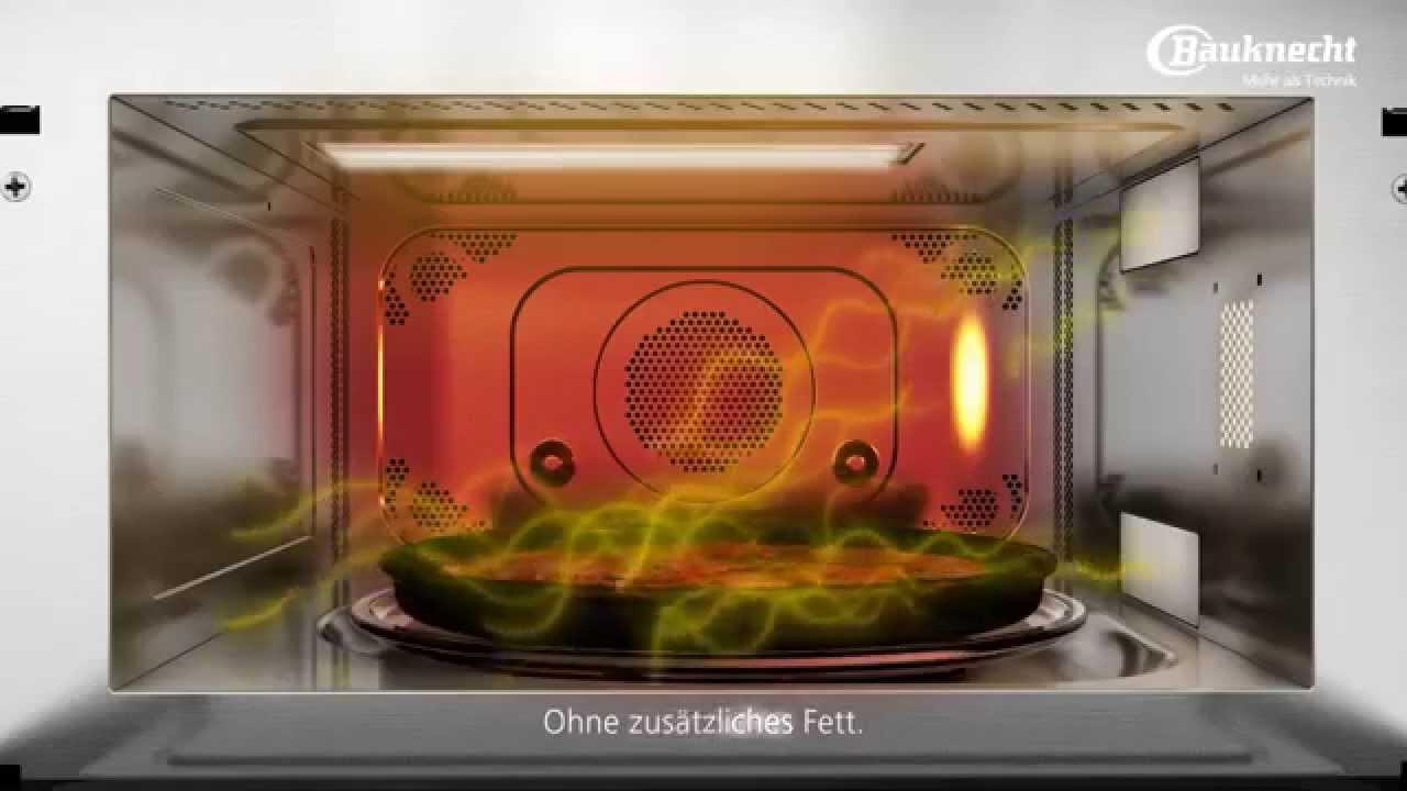 Bauknecht Crisp Funktion Mikrowelle