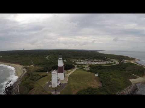 Montauk Point Lighthouse Long Island NY.