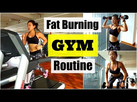 My Fat Burning GYM Routine (Treadmill Interval Operating)