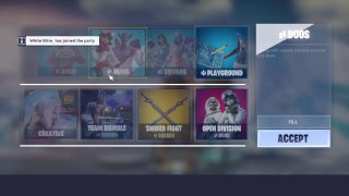 Fortnite Late evening stream giveaway psn card playing with subs