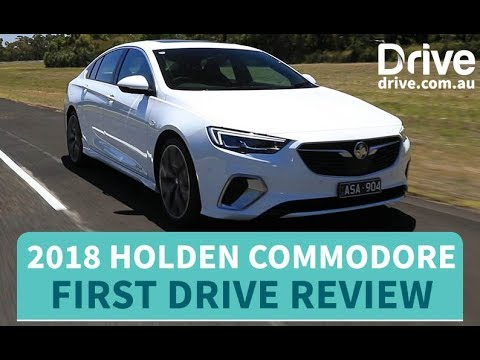 2018 Holden Commodore First Drive Review | Drive.com.au