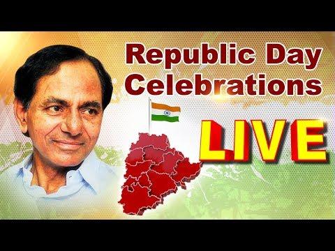 Telangana CM KCR At Republic Day Celebrations LIVE | Parade Grounds LIVE | ABN LIVE