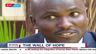 THE WALL OF HOPE: The story of Erick Otieno who got an accident and stuck in ICU for six months