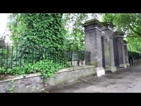 Walk Along Bayswater Road in London 1