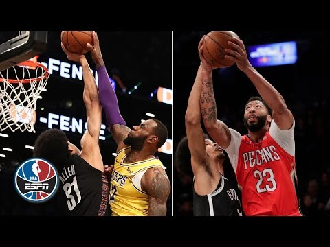 Anthony Davis joins LeBron, Giannis & Griffin at Jarrett Allen's block party | After the Buzzer
